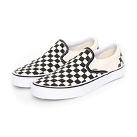 Vans Slip-on Checkerboard White