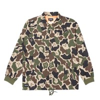 RipNDip Praying Hands Twill Camo Jacket