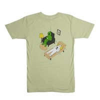 RipNDip Therapy T Shirt Sage Green
