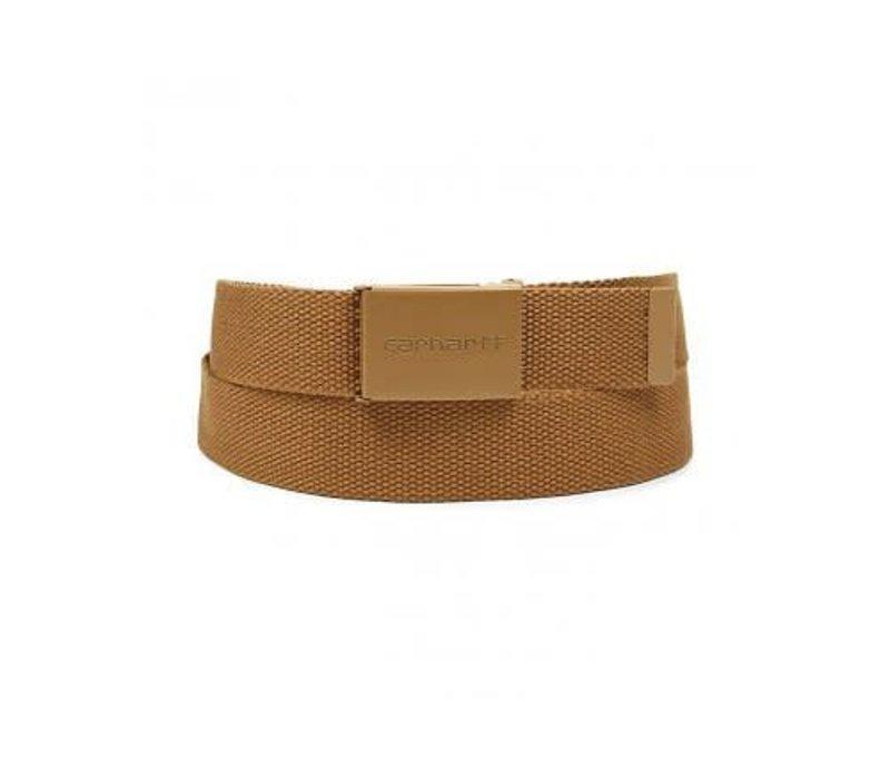 Carhartt Clip Belt Tonal Hamilton Brown