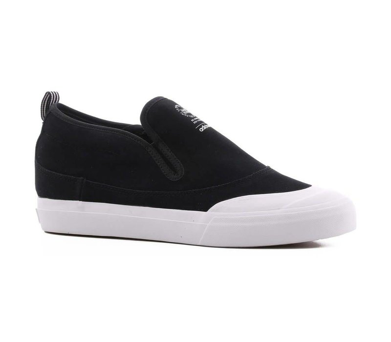 Adidas Matchcourt Mid Slip On Black/White