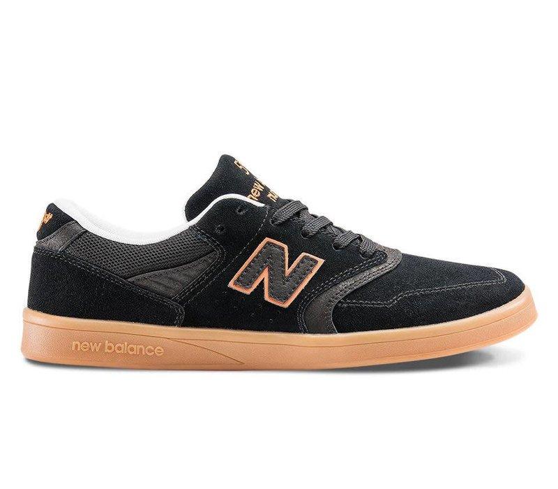 New Balance Numeric 598 Black/Orange/Gum