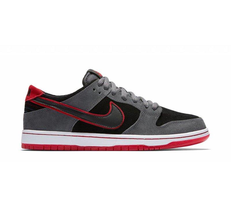 Nike SB Dunk Low Dark Grey/ University Red