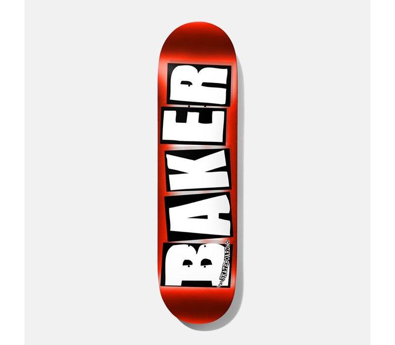Baker - Brand Logo Red Foil 8.0