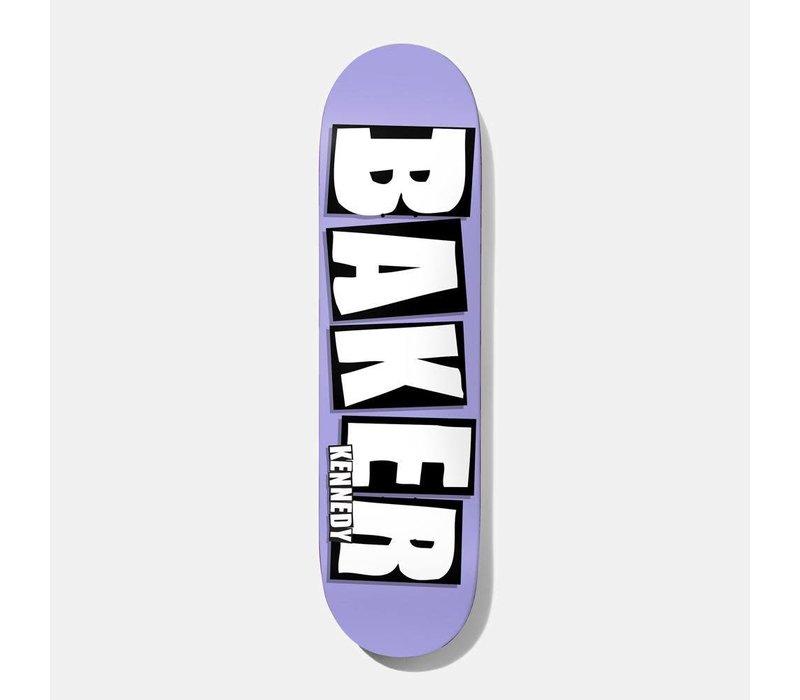 Baker - Kennedy Brand Name Purple 8.25
