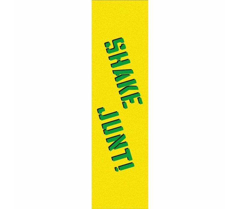Shake Junt Yellow Green Griptape