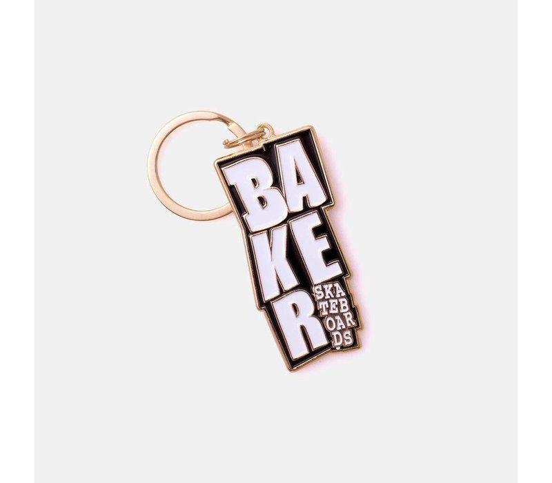 Baker Stacked Keychain