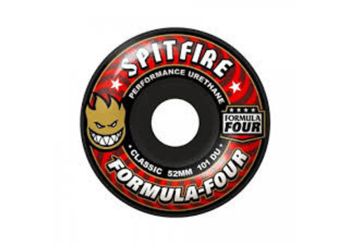 Spitfire Spitfire Wheels - F4 Classic Black 53mm
