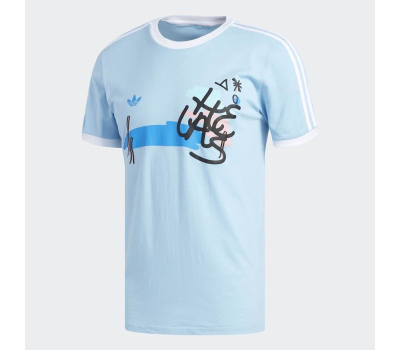 Adidas x Helas Tee Blue/White