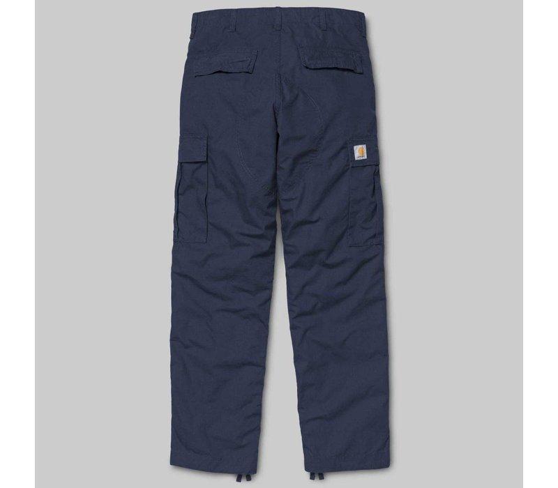 Carhartt Regular Cargo Navy Rinsed Pant