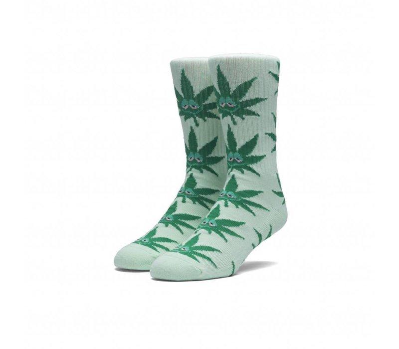 Huf Green Buddy Crew Socks Mint