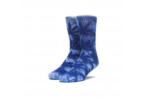 HUF Huf TieDye Plantlife Socks Blue
