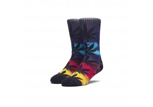 HUF Huf Digital Airbrush Plantlife Socks Blue