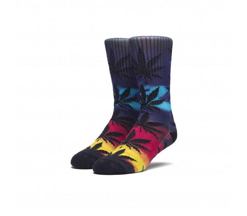 Huf Digital Airbrush Plantlife Socks Blue