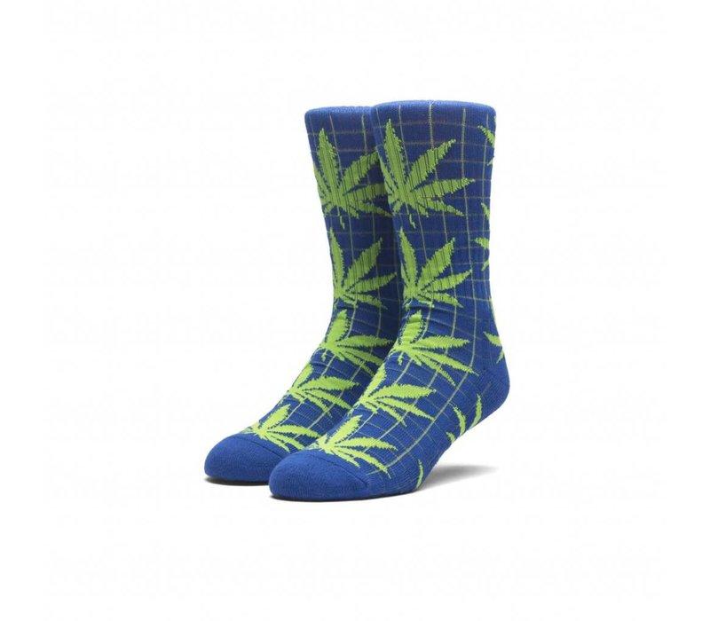 Huf Grid Plantlife Socks Navy