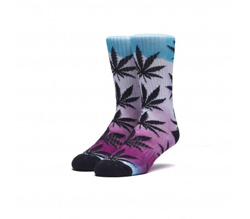 Huf Digital Airbrush Plantlife Socks Pink