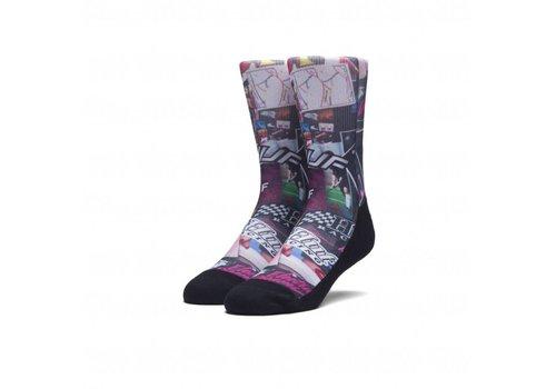 HUF Huf Digital Mood Board Socks Multi