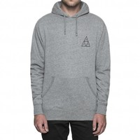 Huf Triple Triangle PullOver Hood Grey