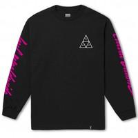 Huf Night Call Triple Triangle L/S Black