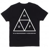 Huf Triple Triangle Tee Black