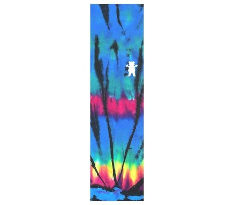 Grizzly Griptape Tie-Dye Cutout Blue