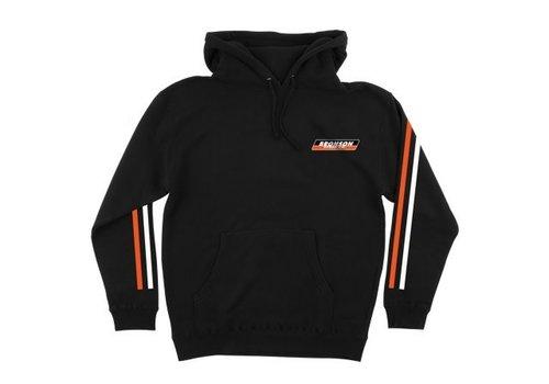 Bronson Speed Co. Bronson PO Hood Racing Stripes Black