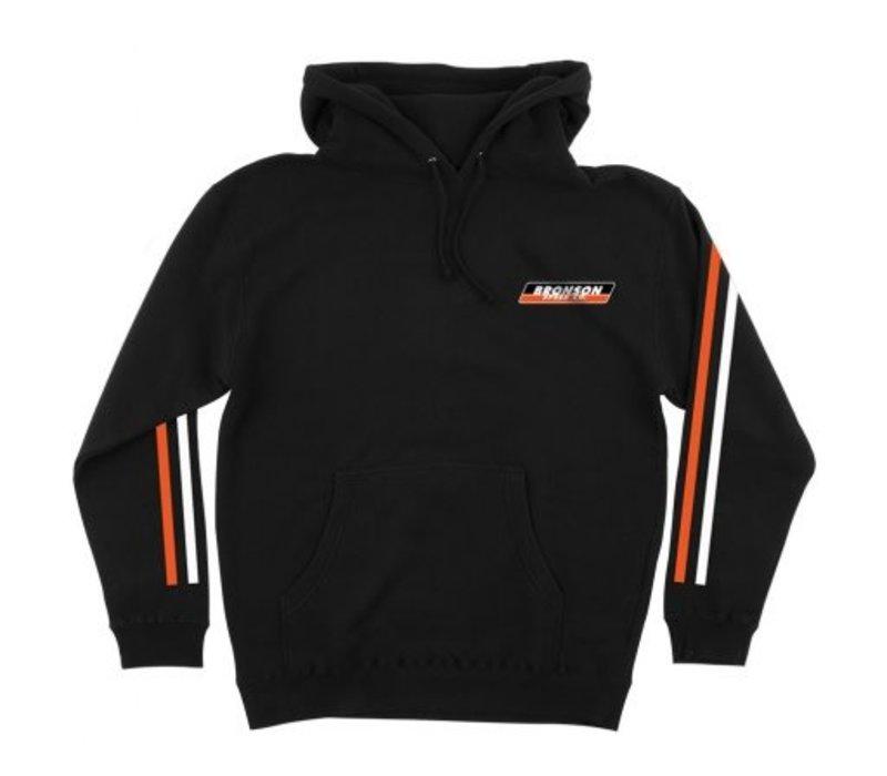 Bronson PO Hood Racing Stripes Black