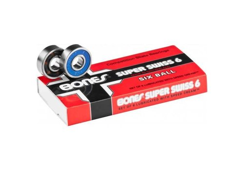 Bones Bones Super Swiss 6 Ball Bearings