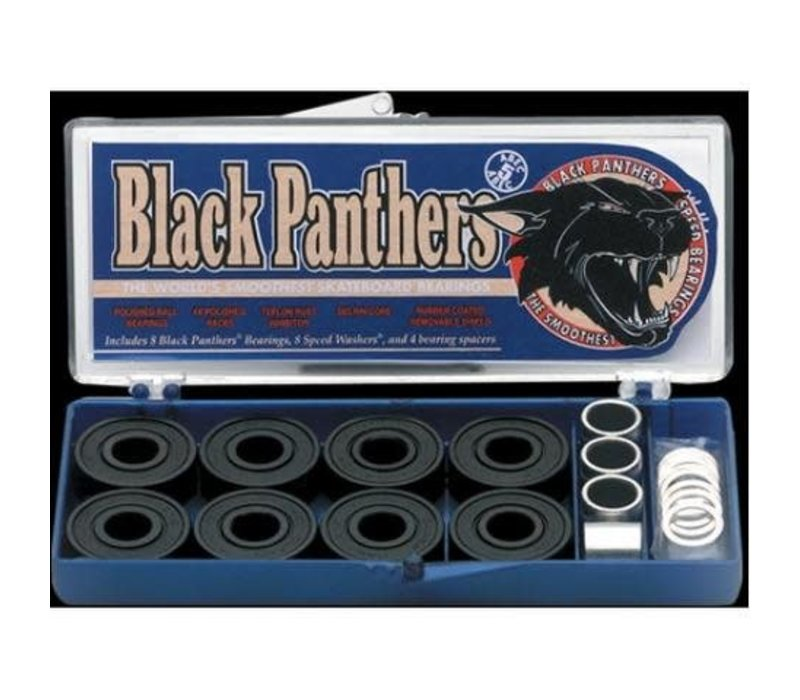 Black Panthers  Abec 5 Bearings