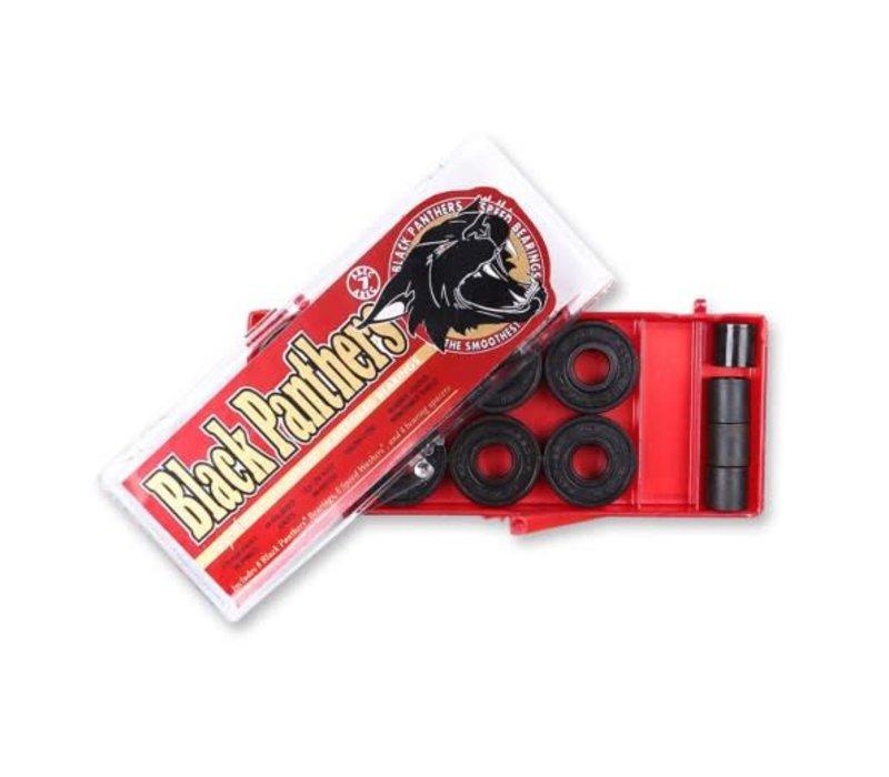 Black Panthers  Abec 7 Bearings