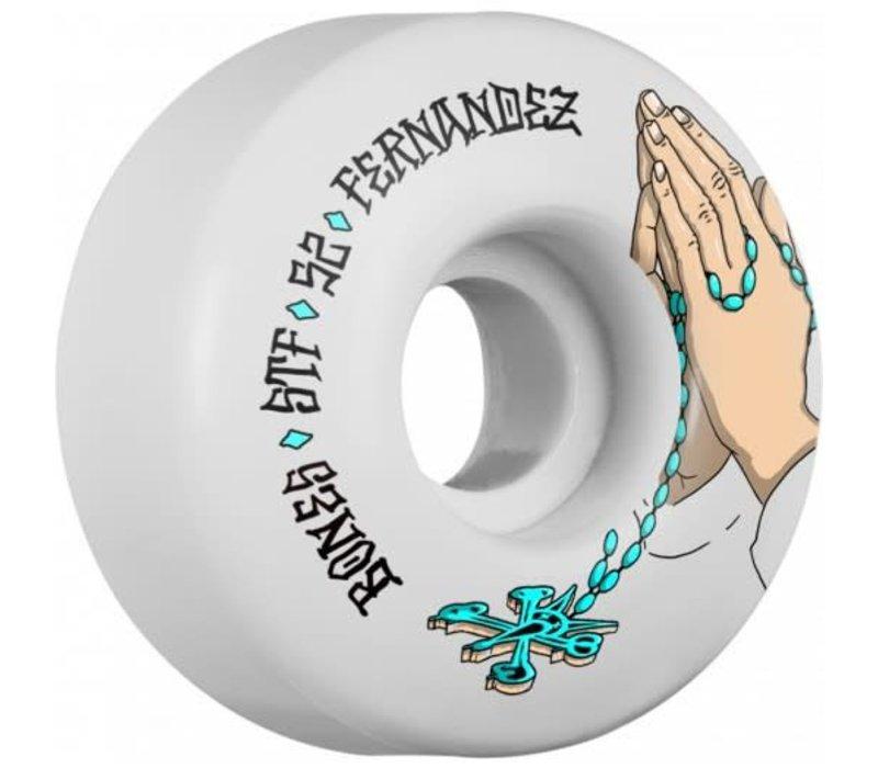 Bones Wheels V1 Fernandez Prayer 52mm STF