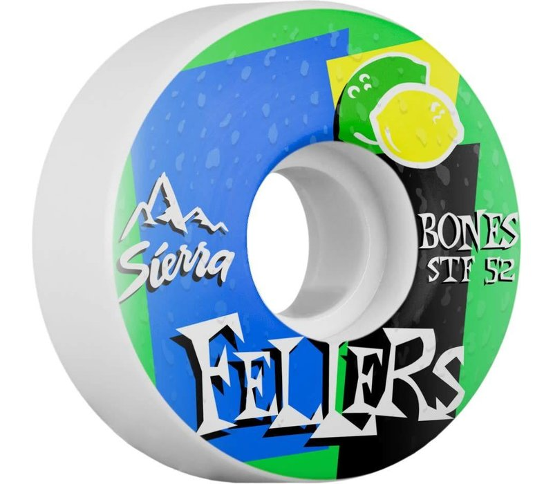 Bones Wheels V3 Fellers Mist 52mm STF