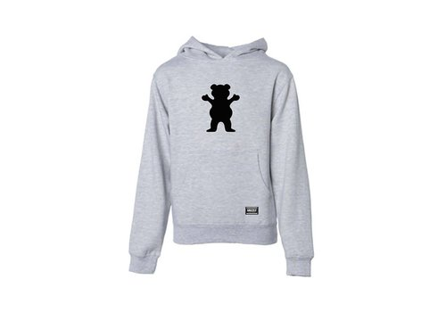 Grizzly Grizzly OG Bear Youth Hoodie Heather