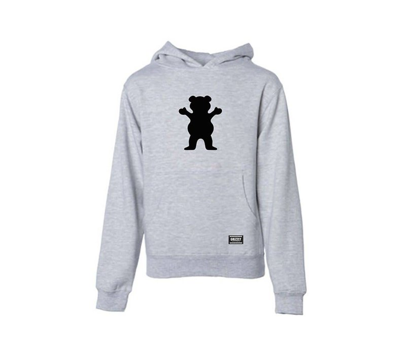 Grizzly OG Bear Youth Hoodie Heather