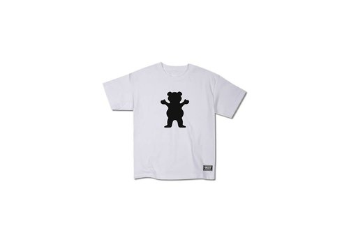 Grizzly Grizzly OG Bear Youth Tee White