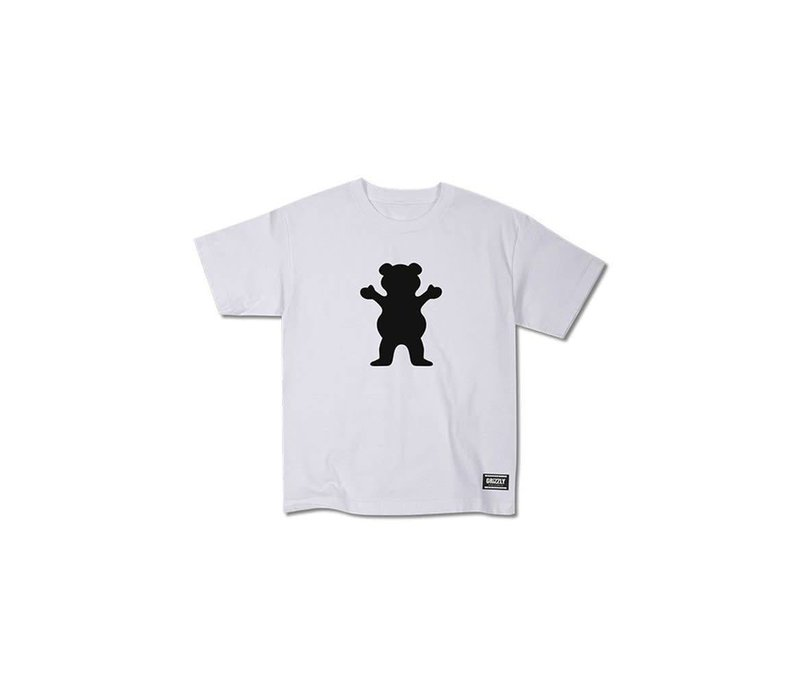 Grizzly OG Bear Youth Tee White