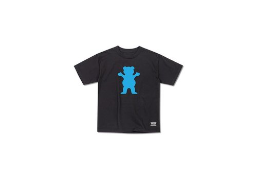Grizzly Grizzly OG Bear Youth Tee Black