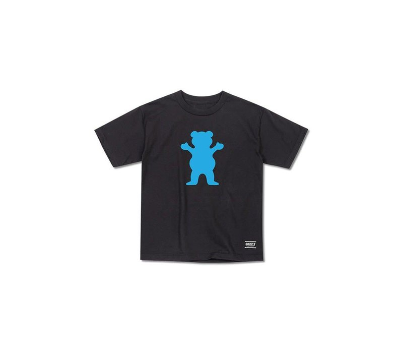 Grizzly OG Bear Youth Tee Black