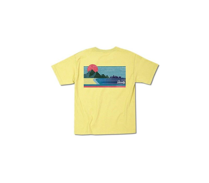 Grizzly Views From The Bu Youth Tee Banana