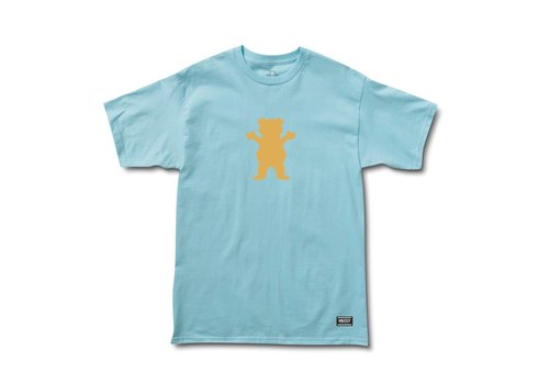 Grizzly Grizzly OG Bear Basic Tee Baby Blue