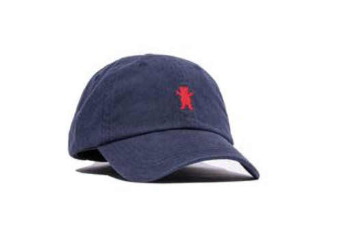 Grizzly Grizzly OG Bear Dad Hat Navy/Red