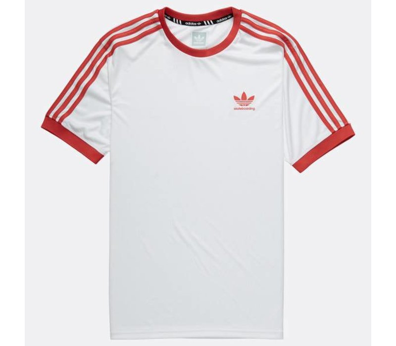 Adidas Clima Club Jersey White/Trasca