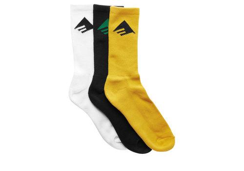 Emerica Emerica Pure 3-Pair Socks