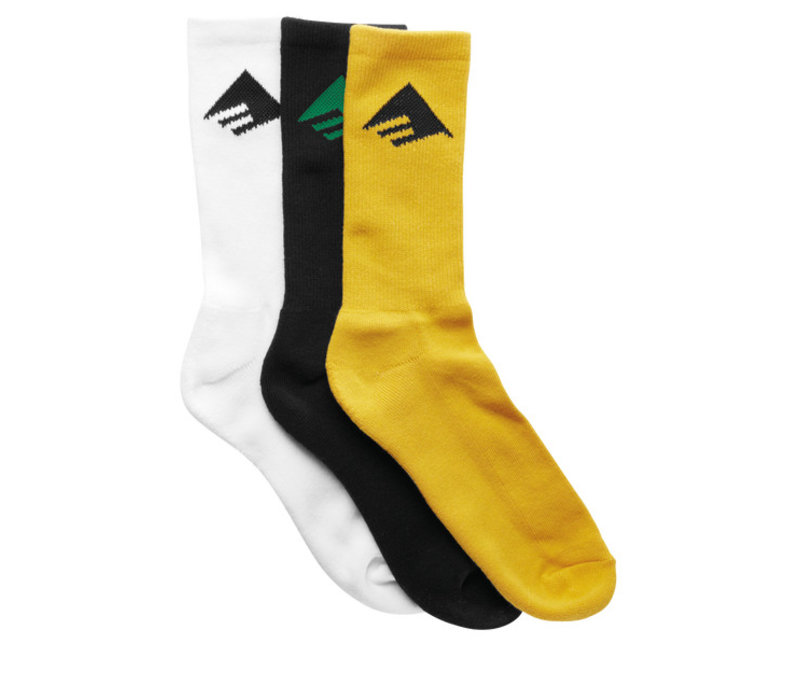 Emerica Pure 3-Pair Socks