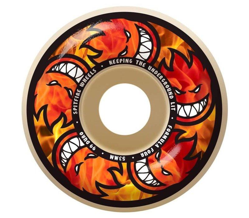 Spitfire Wheels - F4 Hellfire Multiball 52mm