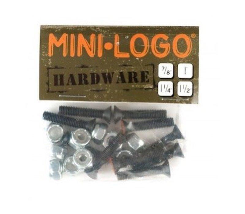 Mini Logo 1 Inch Bolts