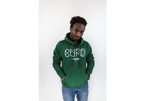 Curb Curb Classic Logo Youth Hood Forrest Green