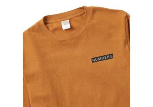 Numbers Numbers Logo Type Longsleeve Orange