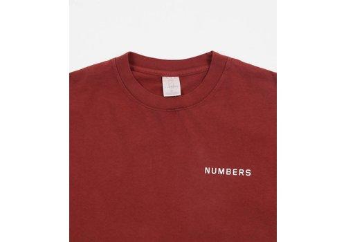 Numbers Numbers 12:45 Angel S/S T-shirt Burnt Orange