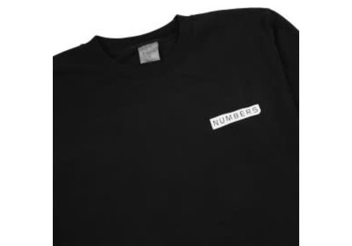 Numbers Numbers Logotype T-Shirt black